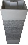 כיור אבן עוnד דגם-8809 אפור