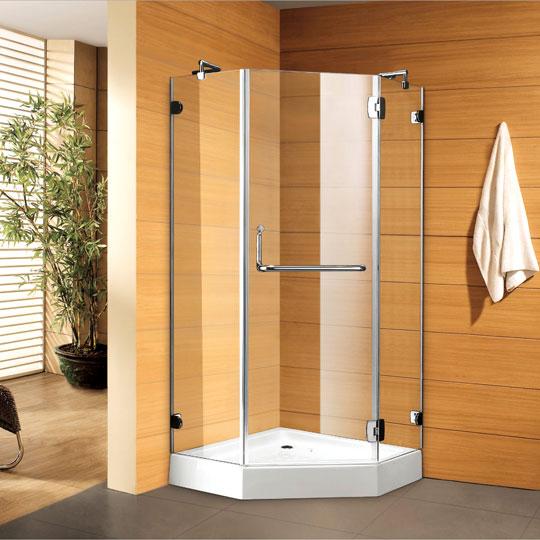 """מקלחון נוביליטי דגם- K-703 - קטום 90-90 ס""""מ.עובי זכוכית 8 מ""""מ.יבוא HB- אמבט חלומי."""