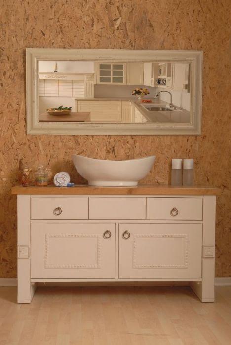 ארון אמבטיה כפרי דגם -פירנצה.