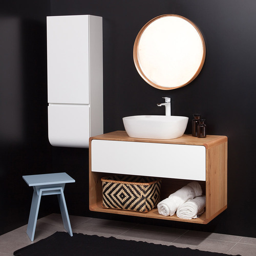ארון אמבטיה כפרי דגם-קליר ווד- פתוח לפי מידה רצויה.