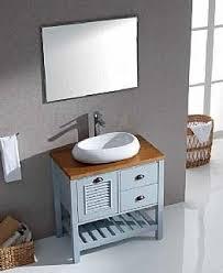 """ארון אמבט כפרי דגם נועה-80 ס""""מ - יבוא HB אמבט חלומי.אספקה מיידית"""