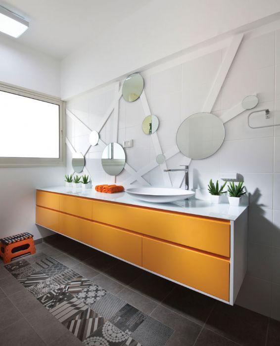 ארון אמבטיה דגם-גל קלאס-ניתן לקבל בכל מידה בהתאמה-