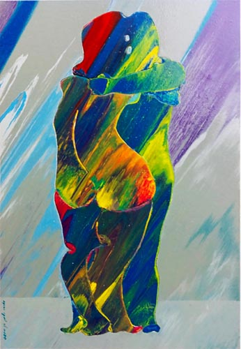 אדוארד אלמשי - צייר