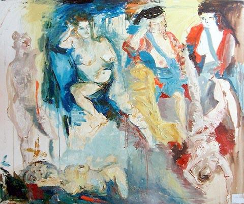 פרלה נשיא - ציירת