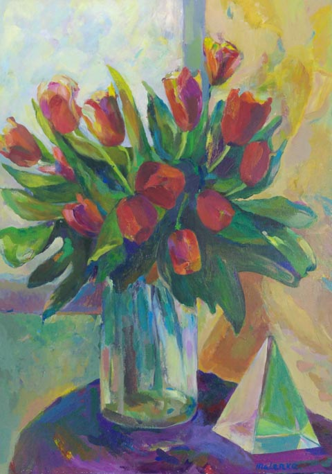 ילנה מקונוביטסקי - ציירת