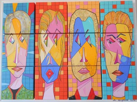 אורי זליגמן - צייר