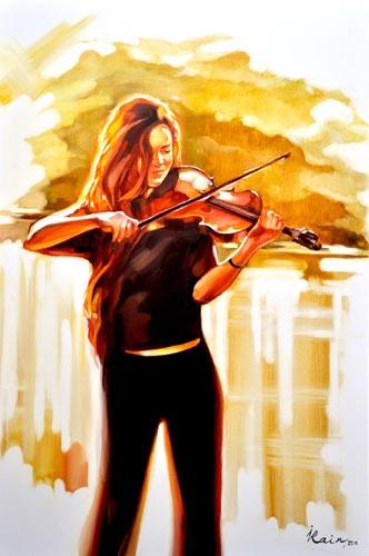 Irena Rain  - Painter