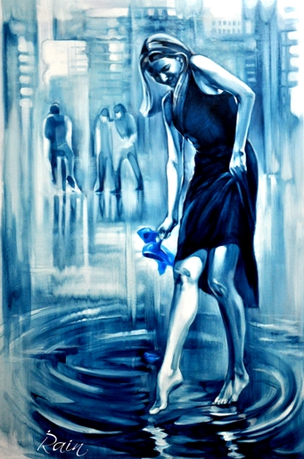Irena Rain  - Painter