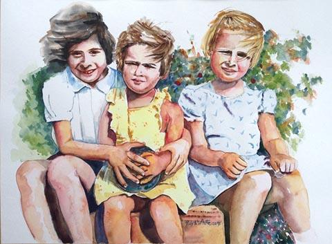 Haya White  - Painter