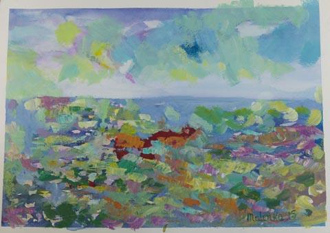 Elena Makonovitsky  - Painter