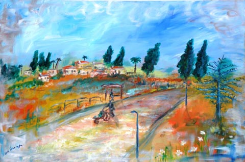 Rina Carmel  - Painter