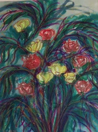 Claudine Timsit Elbaz - Painter