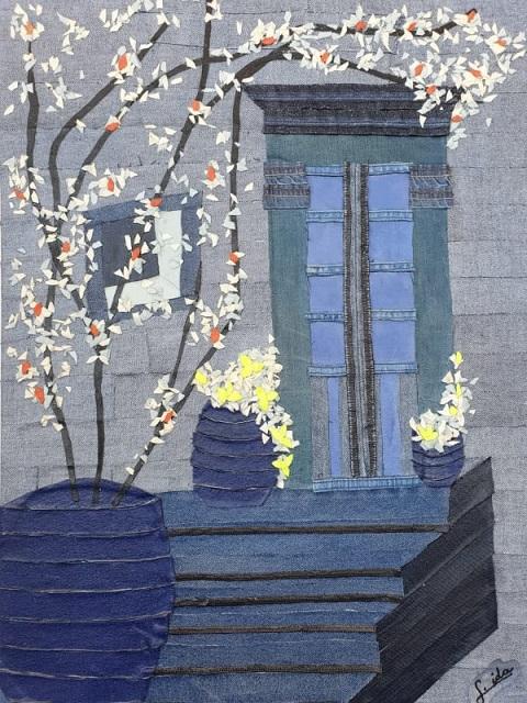 אידה לומיאנסקי - אמנות בג'ינס