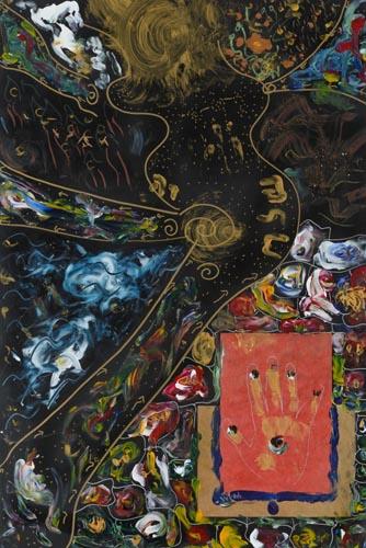 ורד לוי אונגר - ציירת ואמנית רב תחומית