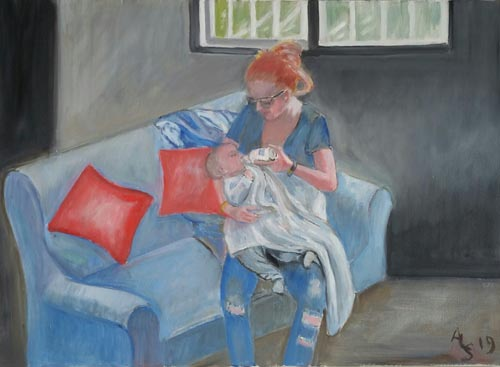 אלין סליברמן - ציירת