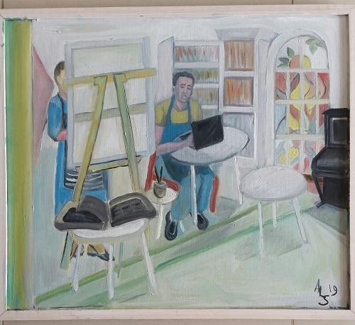 אלין סילברמן - ציירת
