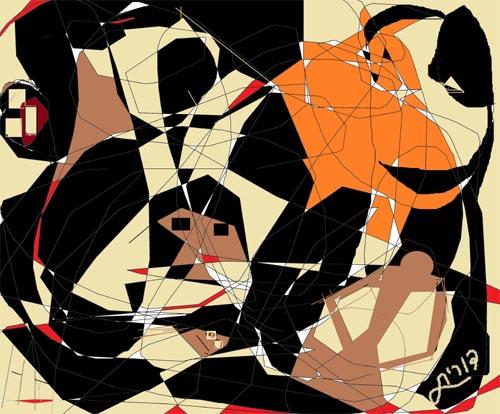 דורית מנדלסון - ציירת דיגיטאלית