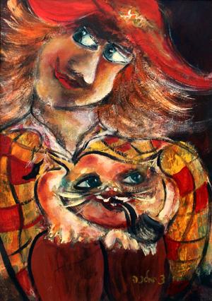 מלכה צנציפר - ציירת