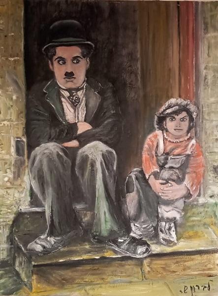 שאול לברון - צייר