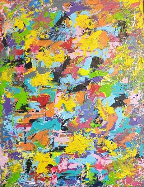 עדי כפיר - ציירת - Yellow Mint Art