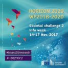 H2020 Societal Challenge 2 Info Week including high-level policy events