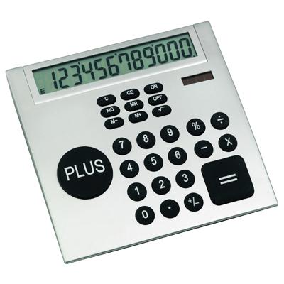 """מחשבון שולחני ענק """"פלוס"""" מעוצב - 2429"""