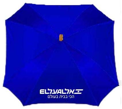 """מטרייה 23"""" מרובעת גימיקית - 3350"""