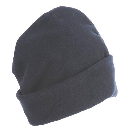 כובעים מבד פליז כפול עם קיפול - 3359