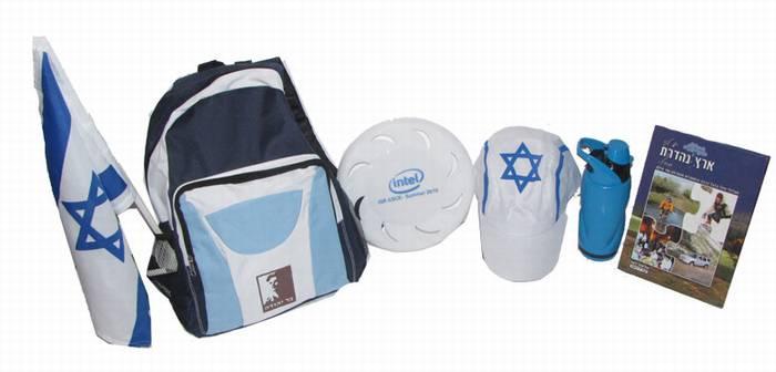 """סט ישראלי לטיולים """"קום והתהלך"""" - 4050"""