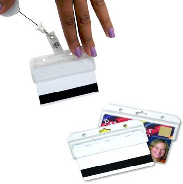מחזיק כרטיס פלסטיק פטנט - 2740