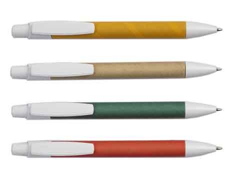 עט כדורי מקרטון ממוחזר - 4222