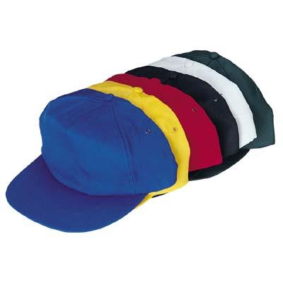 """כובע מצחייה מבד כותנה עם סקוטש - מק""""ט 1400"""