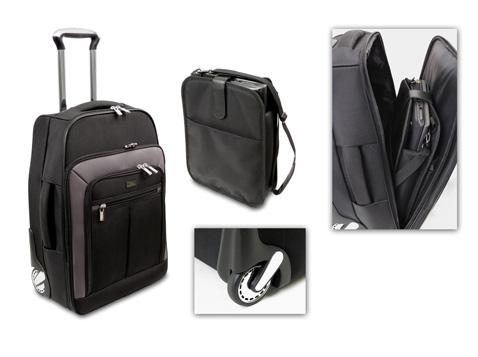 מזוודה למטוס איכותית עם תיק למחשב  - 2346