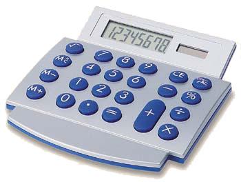 """מחשבון שולחני מעוצב """"מדד"""" מתאים לפרסום לוגו - 2411"""