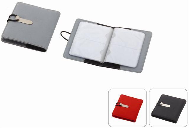 מיני אוגדן לכרטיסי ביקור עם מקום להדפסת לוגו - 3609