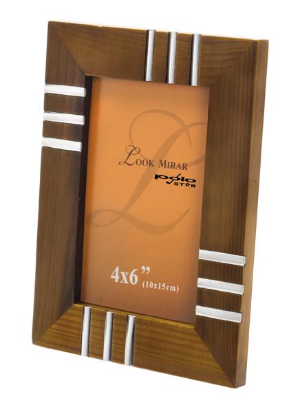 מסגרת לתמונה מעץ מהגוני - 3630