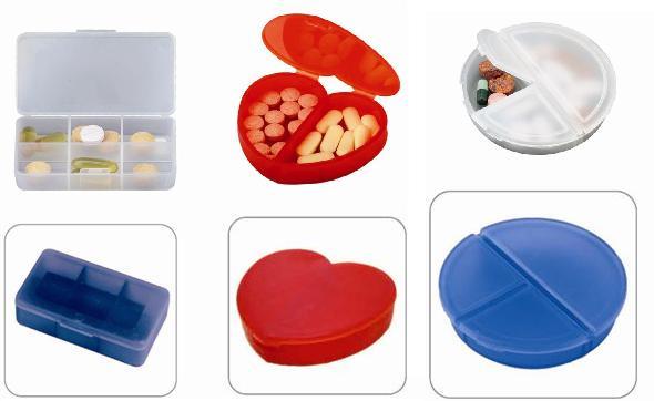 קופסא אחסון לתרופות עם פרסום ולוגו - 1037