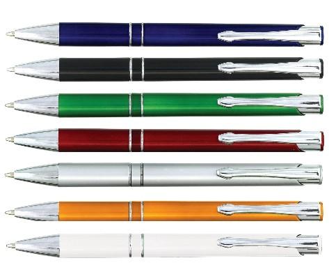 """עט """"דאלאס""""  גוף פלסטי עם קליפס מתכת - 2189"""