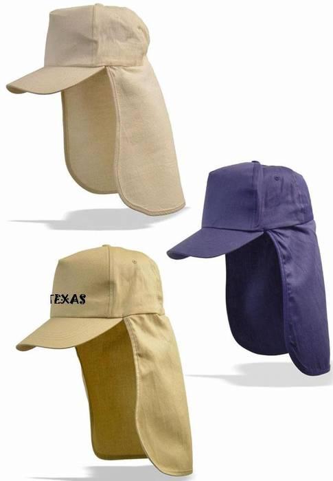 """כובע """"לגיונר""""  עם הגנה על העורף במגוון צבעים - 1413"""