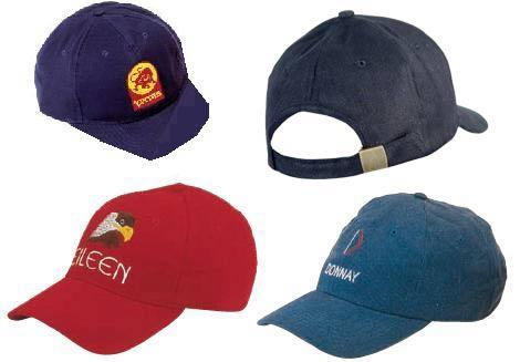 כובעי 6 צלעות משובחים עם סגירת אבזם מתאים לרקמה לוגו-1418