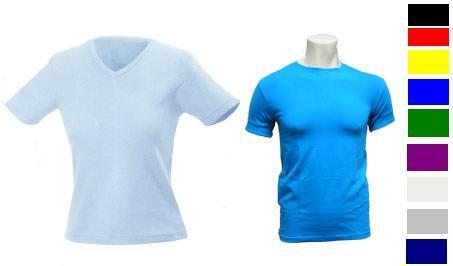 """חולצות צמודות לייקרה """"ריב"""" לנשים ולגברים -1426"""