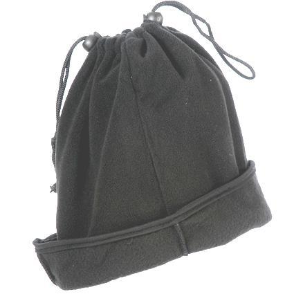 כובע מחמם לראש ולצוואר עשוי פליז עם שרוך - 3303