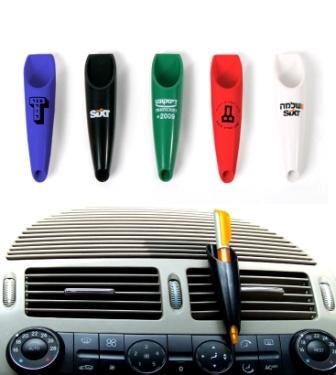 מעמד עם  עט לרכב עם מקום להדפס לוגו לפירסום וחשיפה - 2618