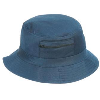 כובע פטרייה עגול עם רוכסן - 1433