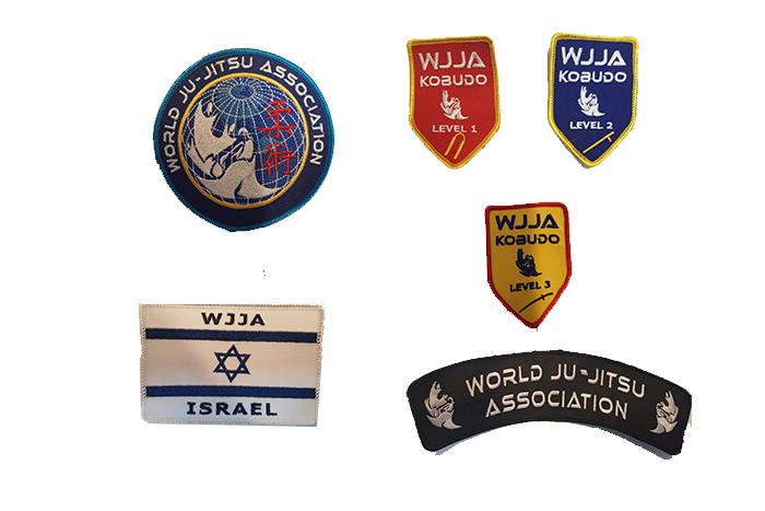 סמלי התאחדות רשמיים לבגד אימון
