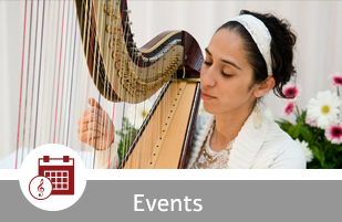 harp events israel