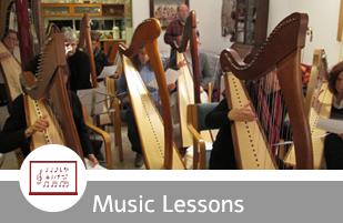 harp lessons israel
