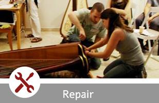 harp repair israel