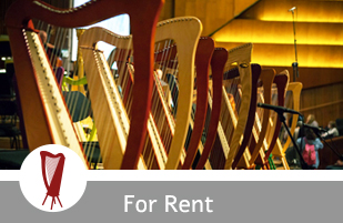harps for rent in israel