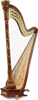 pedal harp israel, harps in israel